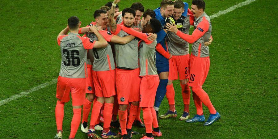 Europa League roundup: Shock exit for Leicester, Milan squeeze through